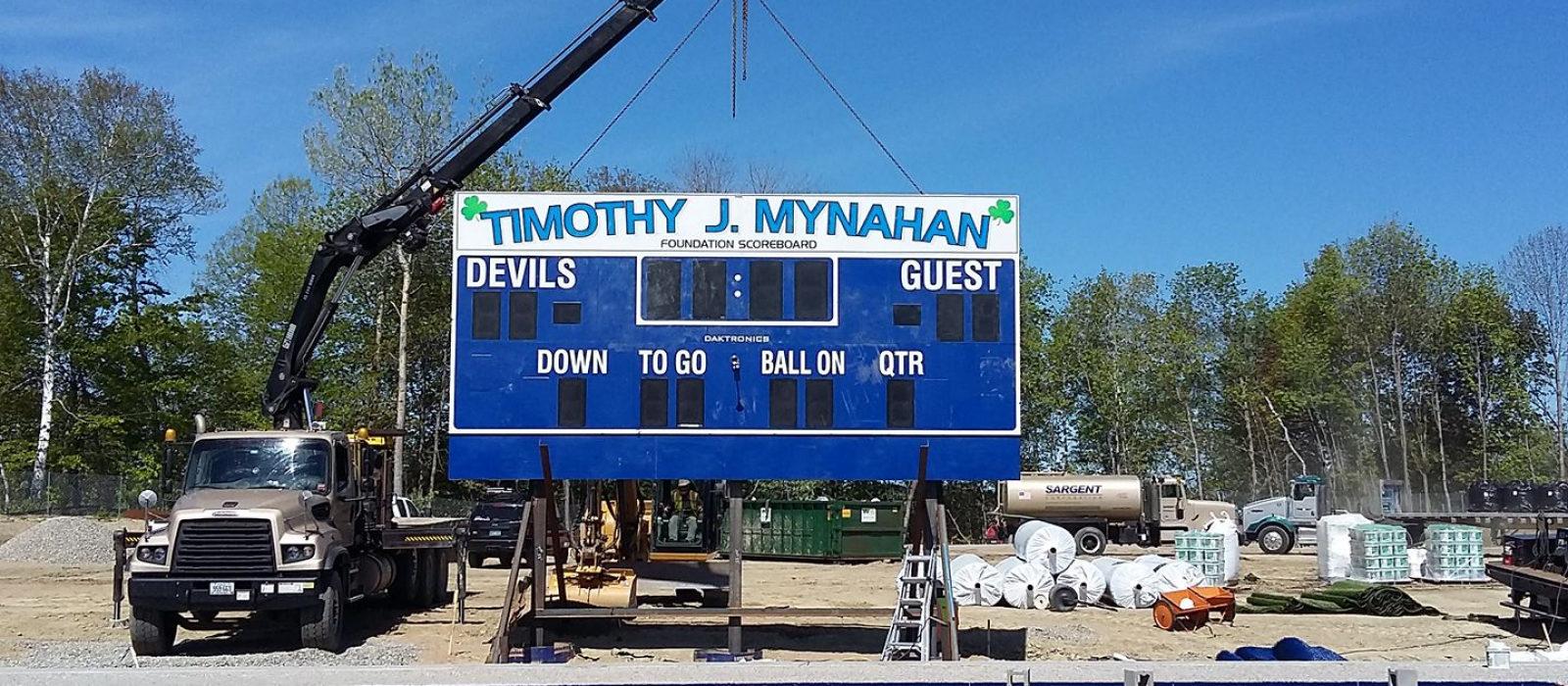 Timothy J. Mynahan Foundation Scoreboard