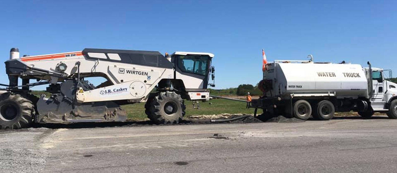 J.R Caskey Heavy Equipment Truck