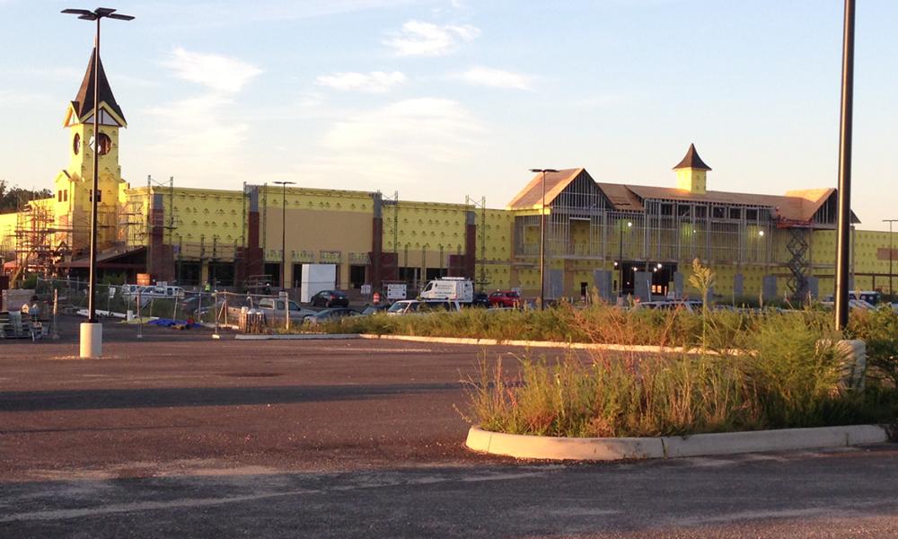 Area View Of Hilltop Village Center In Alexandria, Virginia
