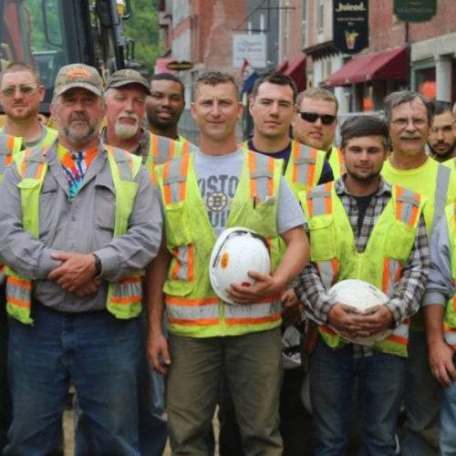 Zoom Group Photo Of Sargent's Crew