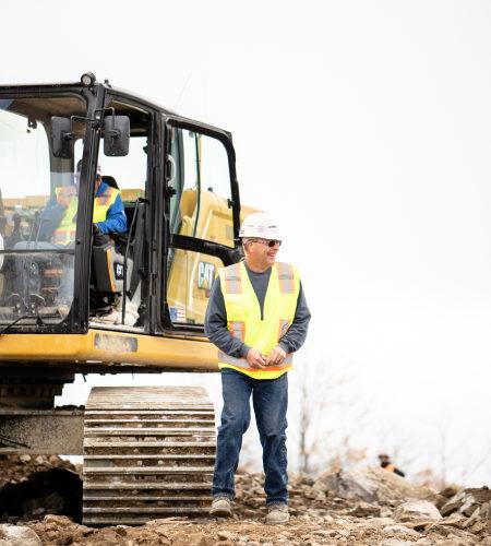 Pete Brogerg, Superintendent At Sargent Servicing On-site