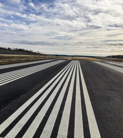 Airport Railway Finished Asphalt